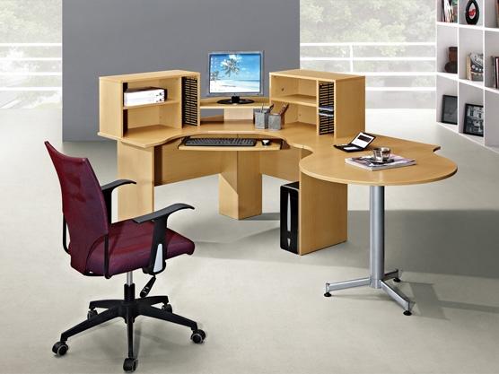Schreibtisch Elektrisch Fur 2 Personen Nebeneinander: Runder Schreibtisch